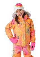 Morning Sky Bryte B Gum Print / Bryte Bubblegum Spyder Bitsy Lola Jacket Girls