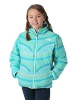 The North Face Reversible Perrito Jacket - Girl's - Ion Blue
