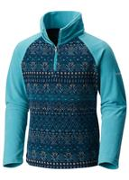 Columbia Glacial II Fleece Print Half Zip - Youth