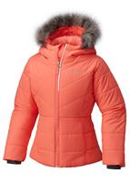 Columbia Katelyn Crest Jacket - Youth - Hot Coral