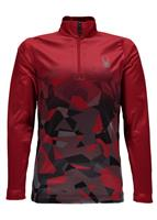 Spyder Limitless 1/4 Zip T-Neck - Boy's - Red / Mini
