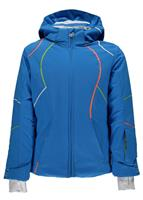 Spyder Tresh Jacket - Girl's - French Blue / Fresh / White