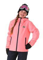 Peach Billabong Sula Insulated Jacket Girls