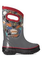 Bogs Classic Super Hero Boot - Youth - Gray Multi