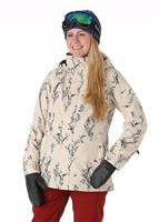 Canvas Birds Burton Jet Set Jacket Womens