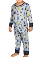 Hot Chillys Toddler Mid Weight Print Set - Youth