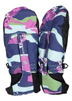 Obermeyer Thumbs Up Mitten Print - Youth - Camo-Girl Purple