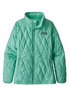 Vjosa Green Patagonia Nano Puff Jacket Girls