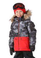 Quiksilver Toddler Edgy Jacket - Boy's - Black / Tannenbaum