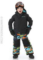 True Black Burton Toddler Amped Jacket Boys