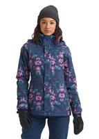 Dress Blue Stylus Burton Jet Set Jacket Womens