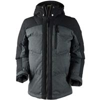 Charcoal Obermeyer Gamma Down Jacket Mens