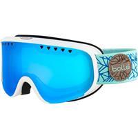 Matte White/Blue Diamond Frame w/ MOD 2.0 Vermillon Blue Lens (21664) Bolle Scarlett Goggle Womens
