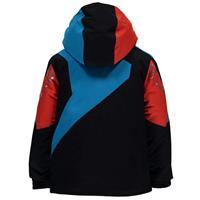 Black / Electric Blue / Rage Spyder Mini Leader Jacket Boys