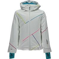White / Bluebird / Multi Spyder Tresh Jacket Girls