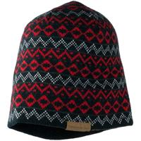 Red Obermeyer Mountain Knit Hat Mens