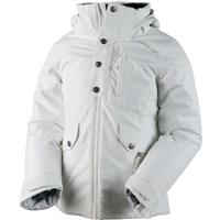 White Obermeyer Kenzie Jacket Girls