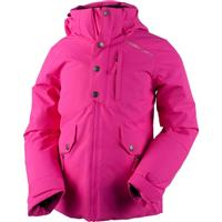 Electric Pink Obermeyer Kenzie Jacket Girls