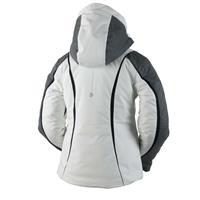 White Obermeyer Dyna Jacket Girls