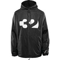 Black / White ThirtyTwo Apex Tech Anorak Mens