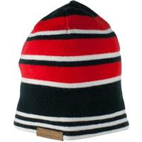 Red Obermeyer Traverse Knit Hat Boys