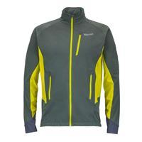 Dark Zinc / Bright Lichen Marmot Fusion Jacket Mens