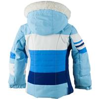 Obermeyer Snowdrop Jacket with Fur - Girl's - Bleu Sky