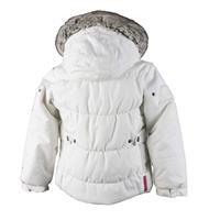 White Obermeyer Juniper Jacket Girls