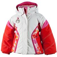 White Obermeyer Aria Jacket Girls