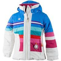 White Obermeyer Snowdrop Jacket Girls