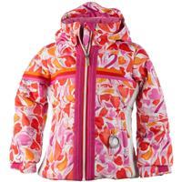 Heart Gingham Obermeyer Snowdrop Jacket Girls
