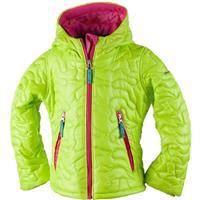 Screamin Green Obermeyer Comfy Jacket Girls