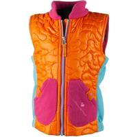 Tangerine Obermeyer Snuggle Vest Girls