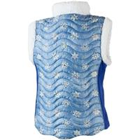 Blue Frost Crystals (17162) Obermeyer Snuggle Up Vest Girls