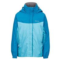 Light Aqua / Aqua Blue Marmot Precip Jacket Girls