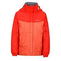 Emberglow / Red Apple Marmot Precip Jacket Girls