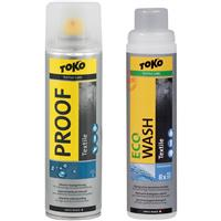 Toko Duo Pack Textile Proof and Eco Textile Wash (1 Liter)