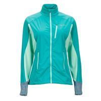 Gem Green / Green Frost Marmot Fusion Jacket Womens
