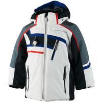 White Obermeyer Tomcat Jacket Boys
