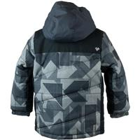 Obermeyer Hawk Jacket - Boy's - Gridlock Print (17101)