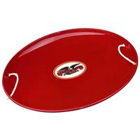 Red Steel Saucer