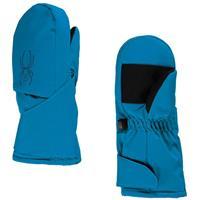 Electric Blue / Black Spyder Mini Cubby Ski Mitten Boys
