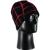 Black / Red Spyder Web Hat Mens