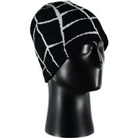 Black / White Spyder Web Hat Mens