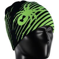 Black / Bryte Green Spyder Throwback Hat Boys