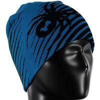Electric Blue / Black Spyder Throwback Hat Boys