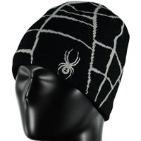 Black / Cirrus Spyder Web Hat Boys