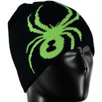 Black / Bryte Green Spyder Reversible Bug Hat Boys