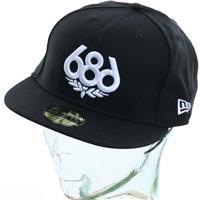 Black 686 Icon New Era Hat Mens