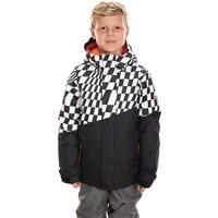 Checkers 686 Cross Insulated Jacket Boys